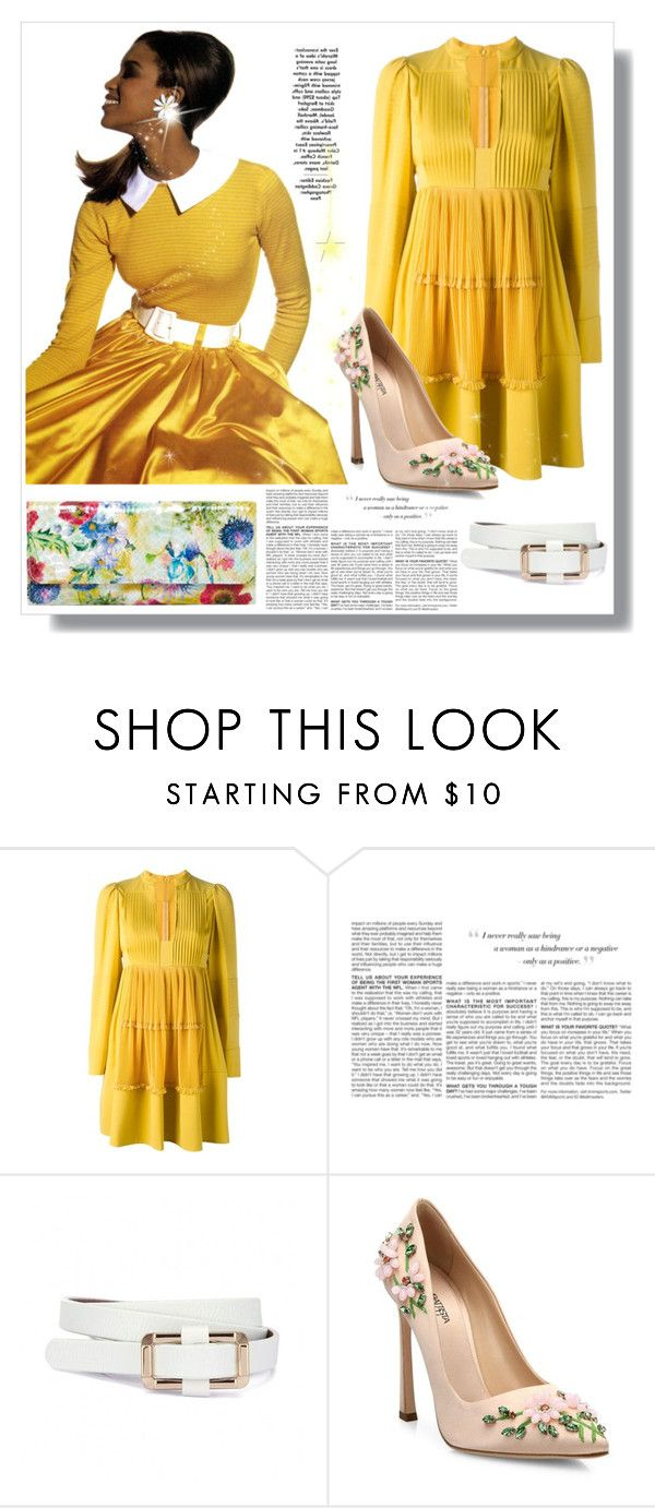 """Bright & Colorful"" by bellamonica ❤ liked on Polyvore featuring Valentino, BCBGMAXAZRIA, Giambattista Valli and HOBO"