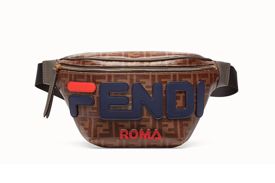 The FILA x Fendi Monogrammed Waist Bag Can Now be Pre