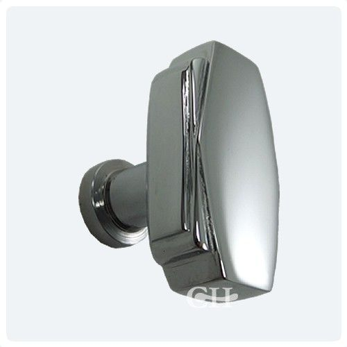 Art deco handles croft 7006 art deco cupboard door knobs in chrome or nickel from