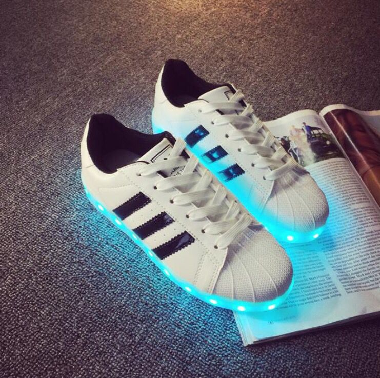 LED Sneakers Adidas inspired Edition! | LED Vibes