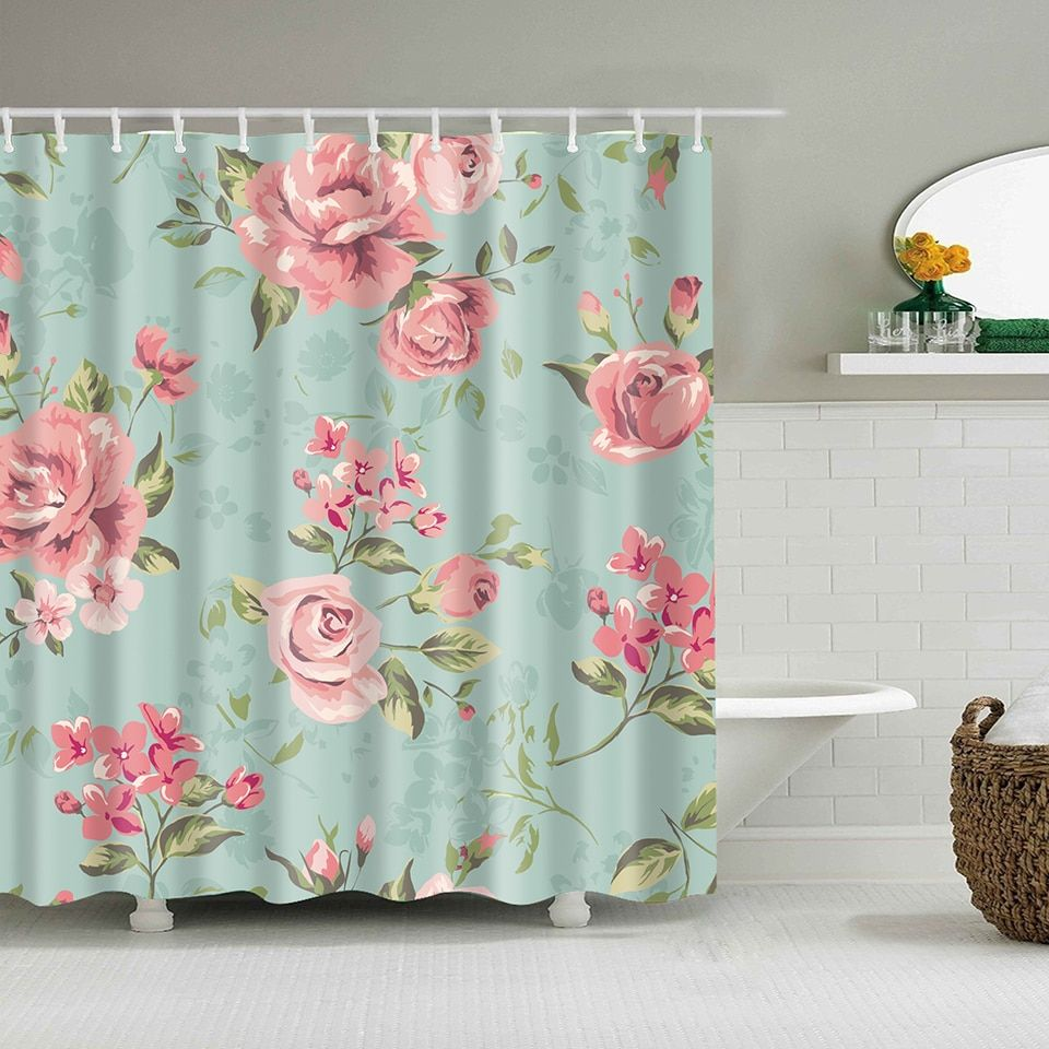 Pin By Morayma On Shower Curtain Fabric Shower Curtains Vintage