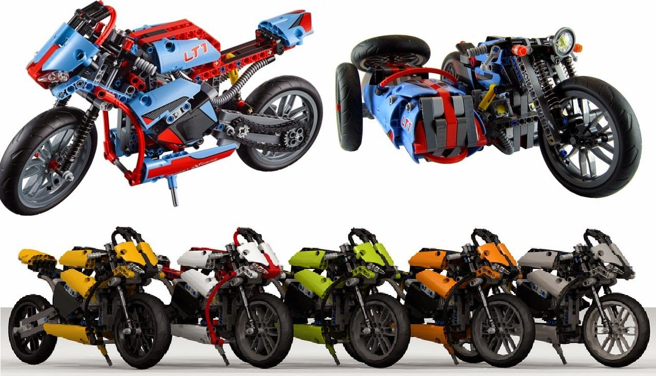 lego technic motorcycles mod 39 s thoughts the 42036. Black Bedroom Furniture Sets. Home Design Ideas