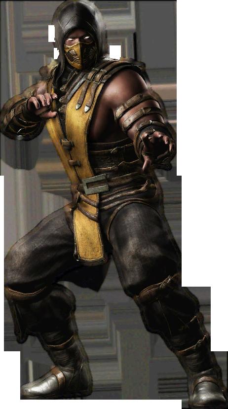 Injustice Gau Ios Scorpion Render Scorpion Mortal Kombat Mortal Kombat Characters Mortal Kombat Art
