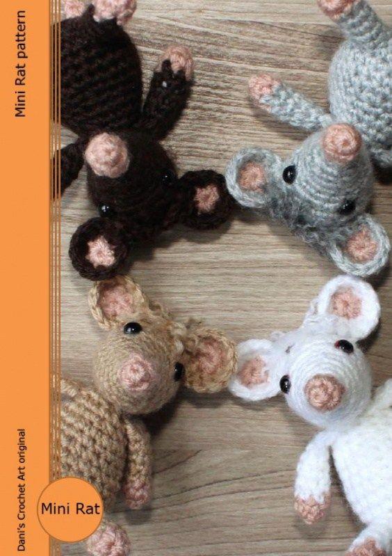 Animal rat amigurumi pattern free | Crochet animal amigurumi ... | 800x564