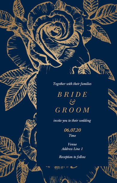 wedding invitations templates  designs  vistaprint in 2020