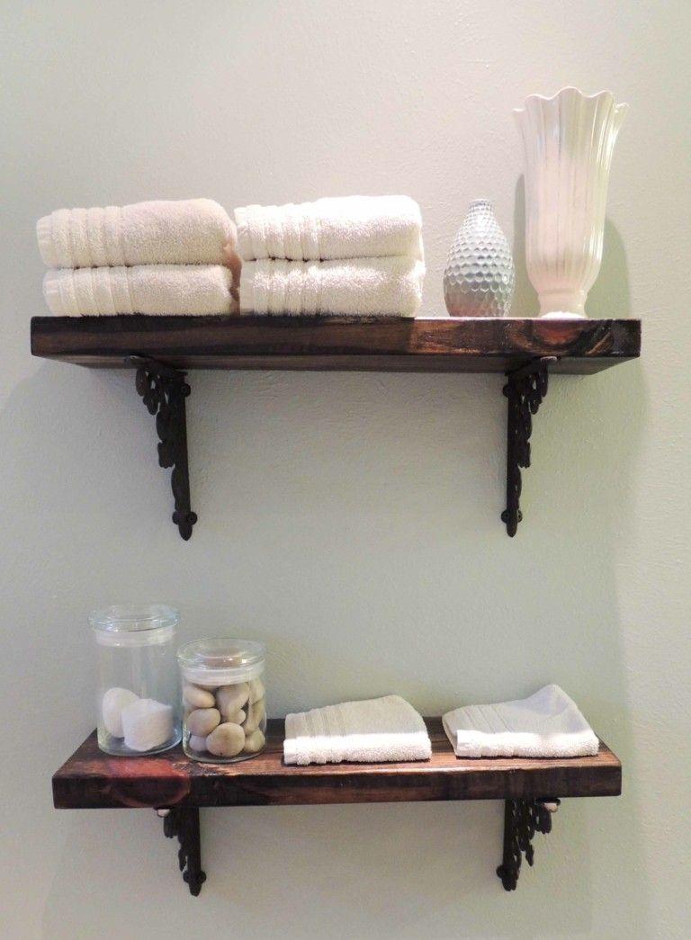 Ideas Para Hacer Set De Baño Original estante de baño de diseño casero 3f9b09cfd0d1