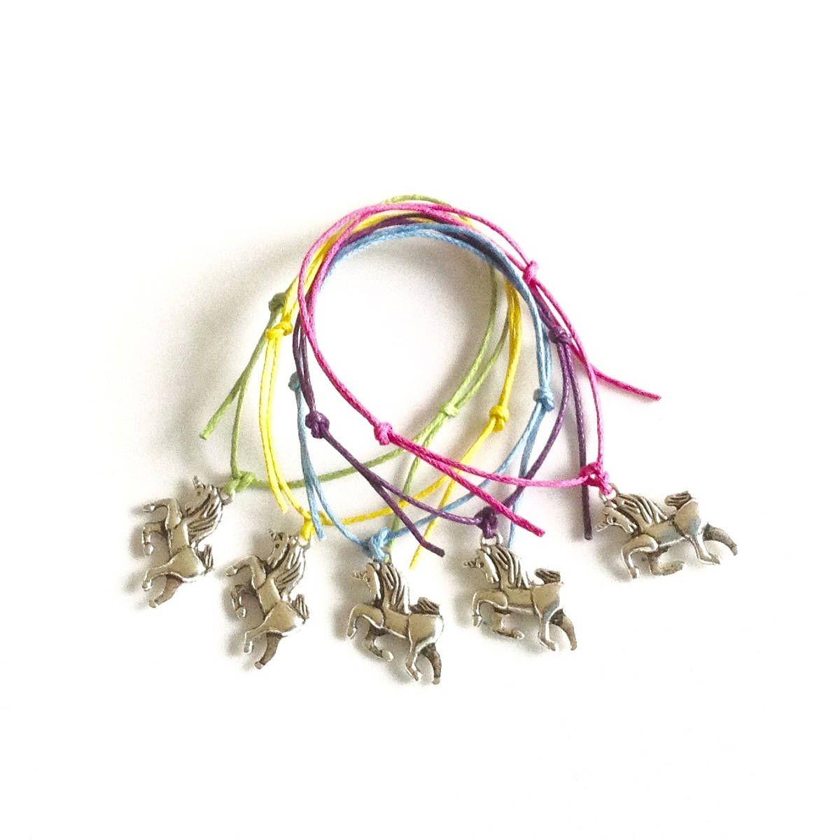 unicorn charm friendship bracelets girls and boys unicorn party