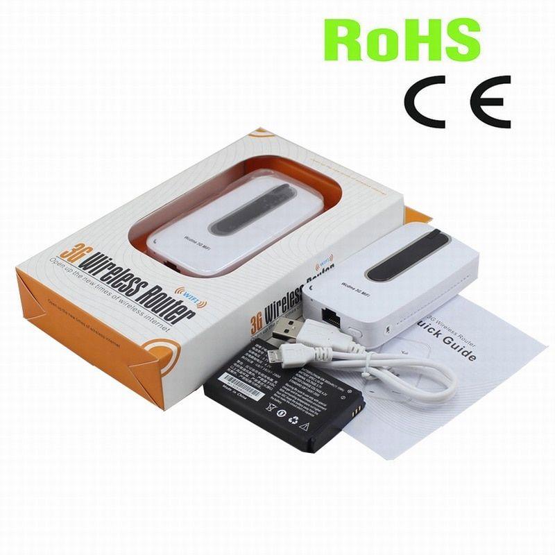 Free Shipping 3000mah Power Bank Portable Wifi Hotspot 3g Mifi