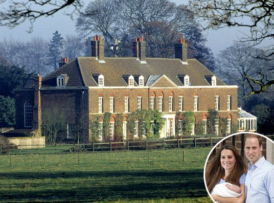 William Kate George Moving To Anmer Hall Anmer Hall