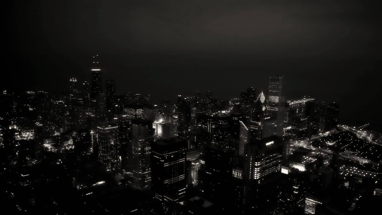 Koyaanisqatsi Dark Organ Song Hd Black And White Wallpaper Black And White City City Wallpaper