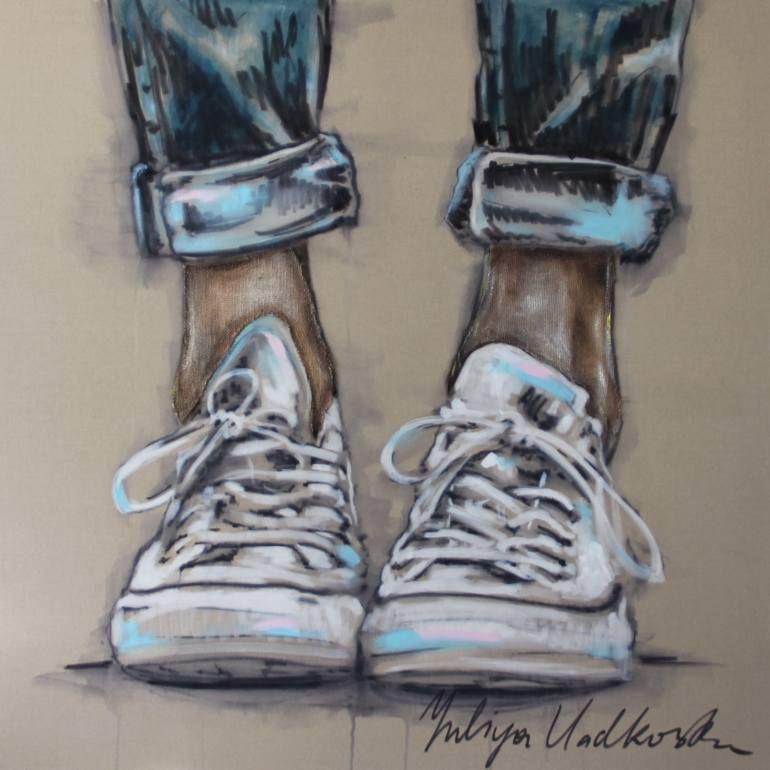 """Saatchi Art Artist Yuliya Vladkovska; Painting, """"allstars"""" #art"""