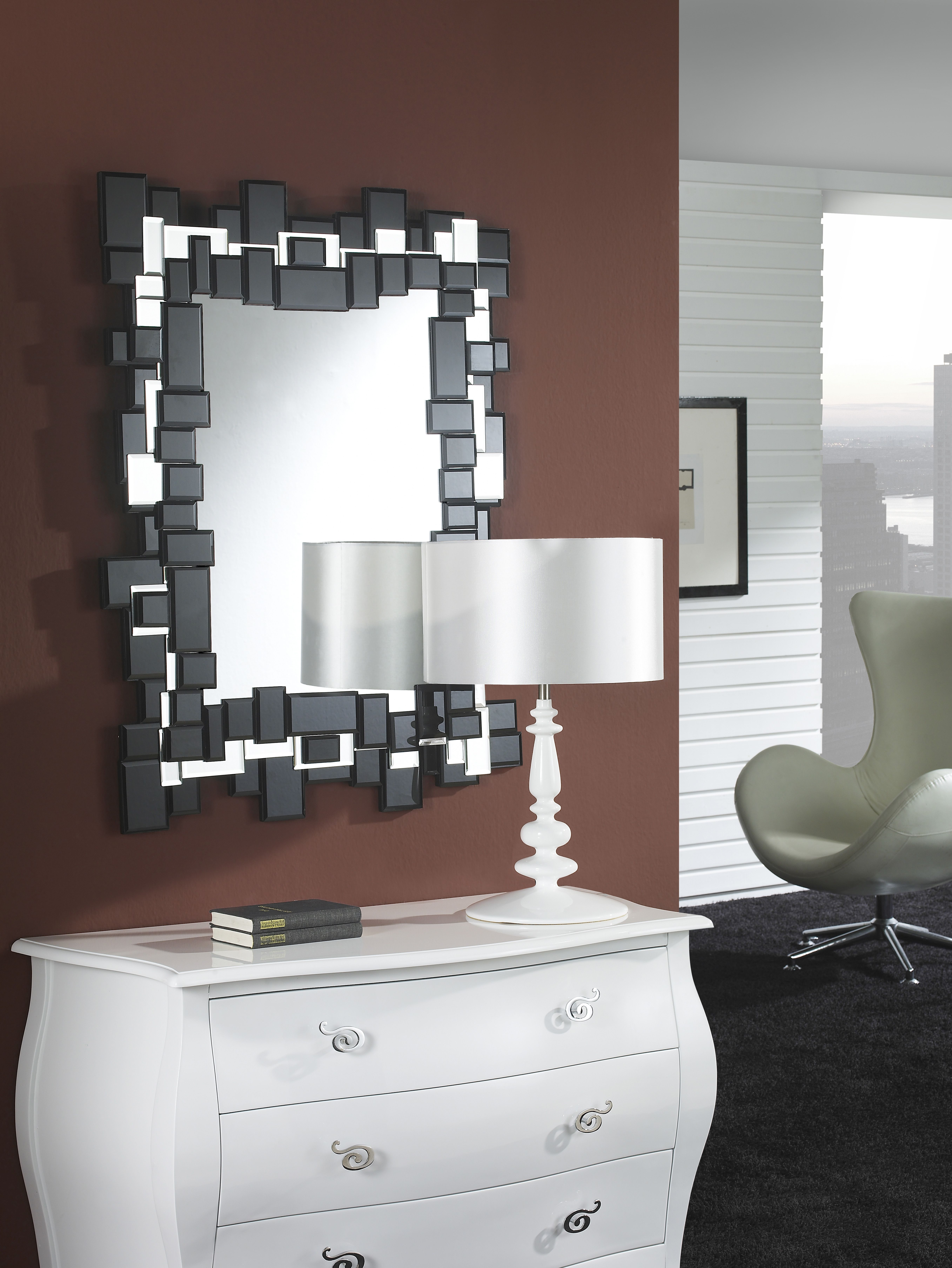 Espejos De Cristal Modernos Espejosmodernos Es Espejos  ~ Espejos Decorativos Segunda Mano