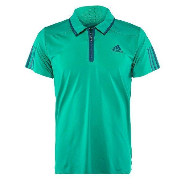 This Adidas Barricade Polo modernizes the classic tennis