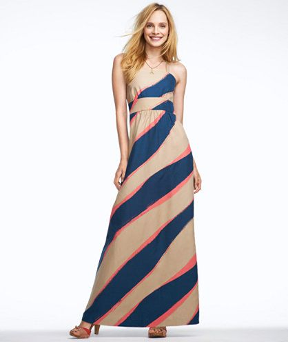 Strappy Maxi Dress: DRESSES | Free Shipping at L.L.Bean Signature