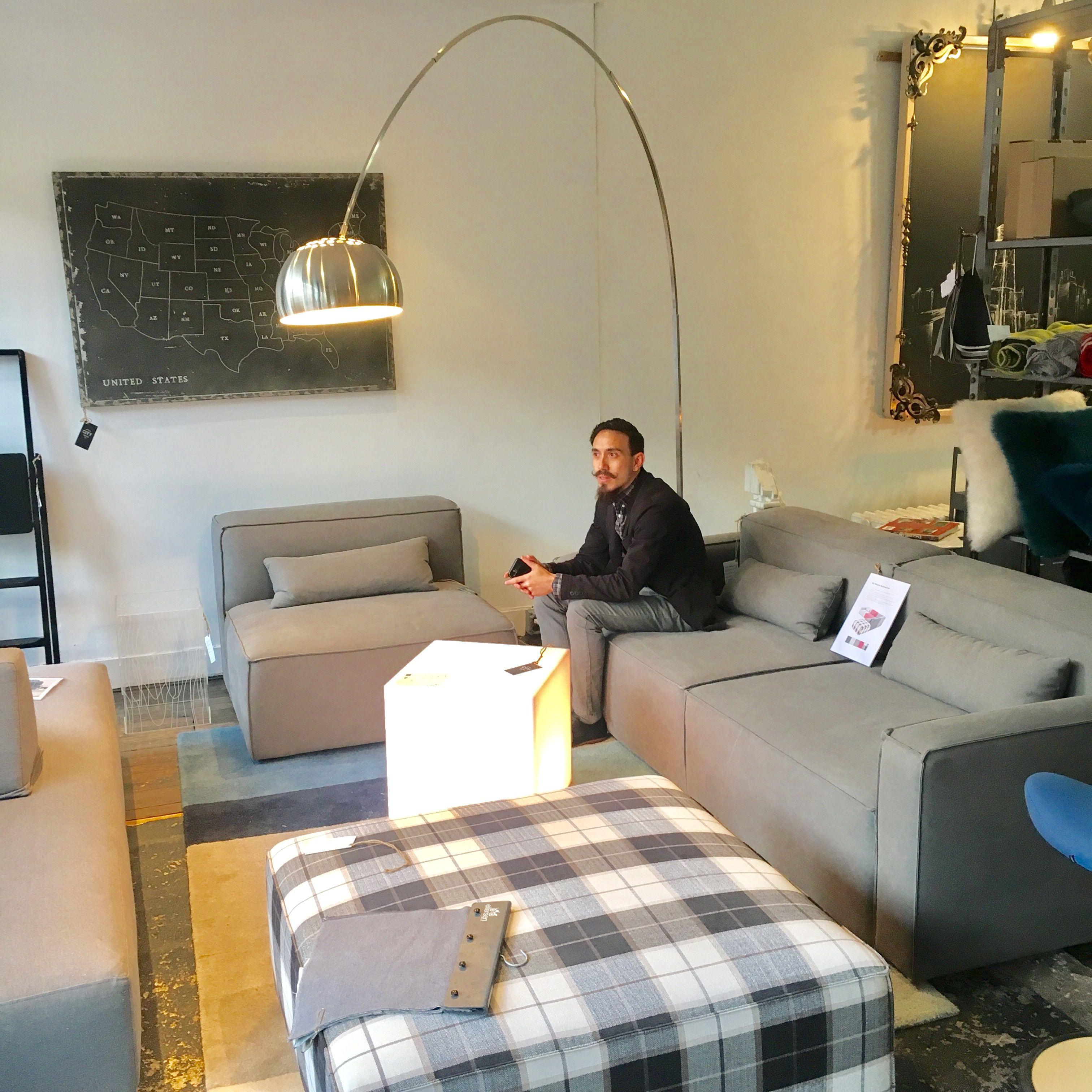 Mix Modular Sofa And Ottoman By Gus Modern City Furniture Modular Sofa Furniture
