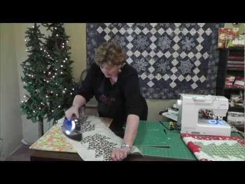 Christmas Table Runner Tutorial By Jenny Doan From The