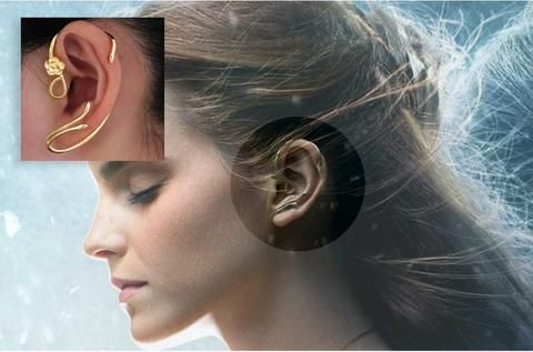 boucle d'oreille belle et la bete