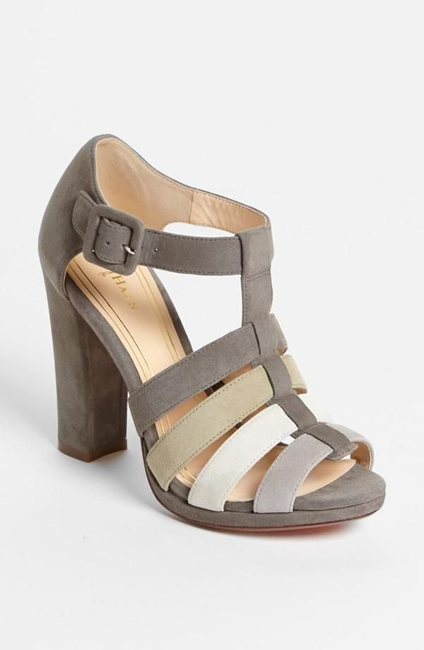 360da62ba48bd Style + Comfort  Cole Haan Suede Sandal with Nike Air Technology ...