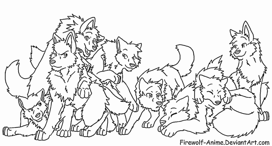 request___wolf_pack_2_by_firewolf_anime-d38gq7k.png (900 ...