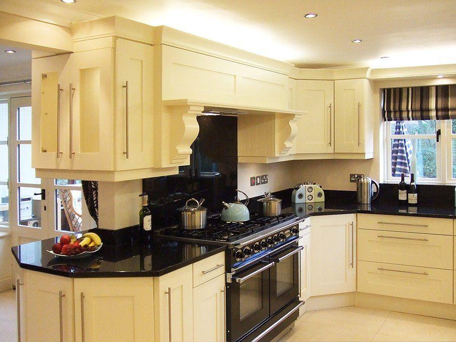Cream Kitchen Cabinet Black Granite Countertop Cream Kitchen Cabinets Ideas Affordable Kitchen Cabinets Shaker Kitchen Cabinets Yellow Kitchen