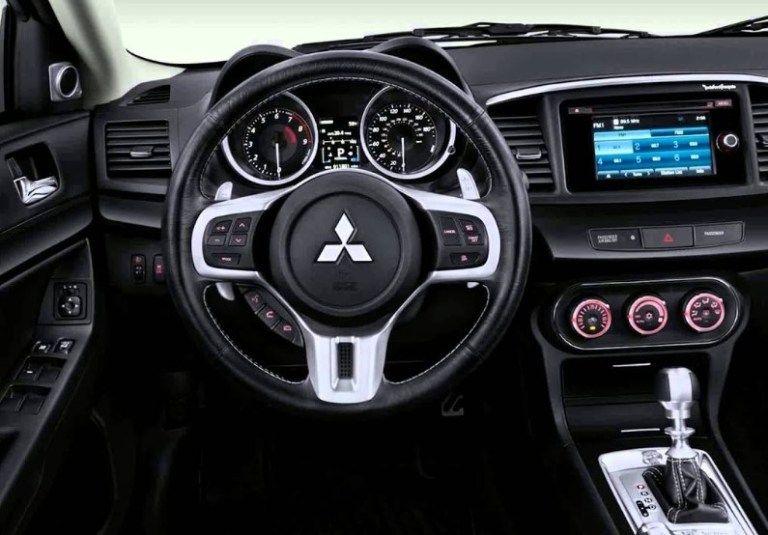 2020 Mitsubishi Evo Interior