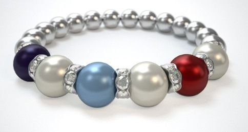 This is what my Grandmothers Bracelet would look like!