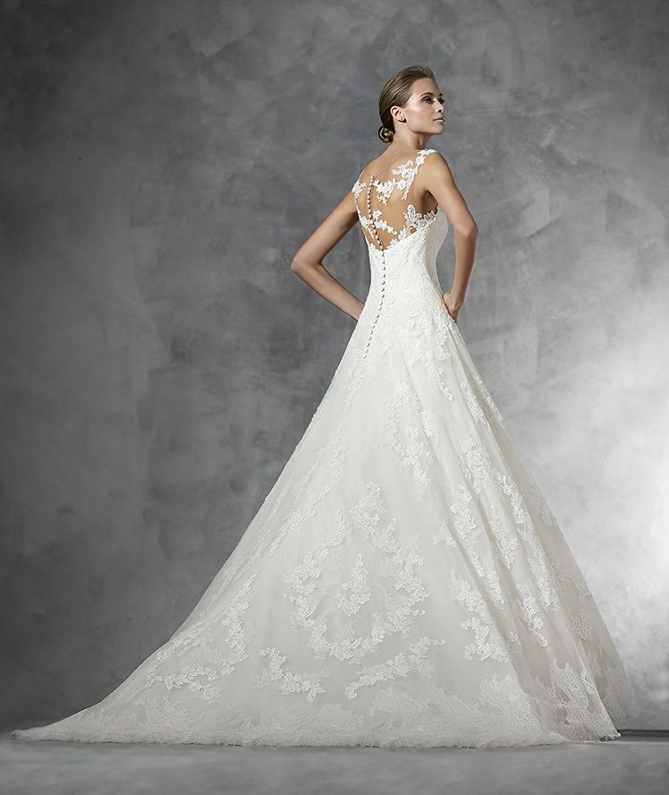 PRESEN - lace princess wedding dress | Pronovias, Brautkleider und ...