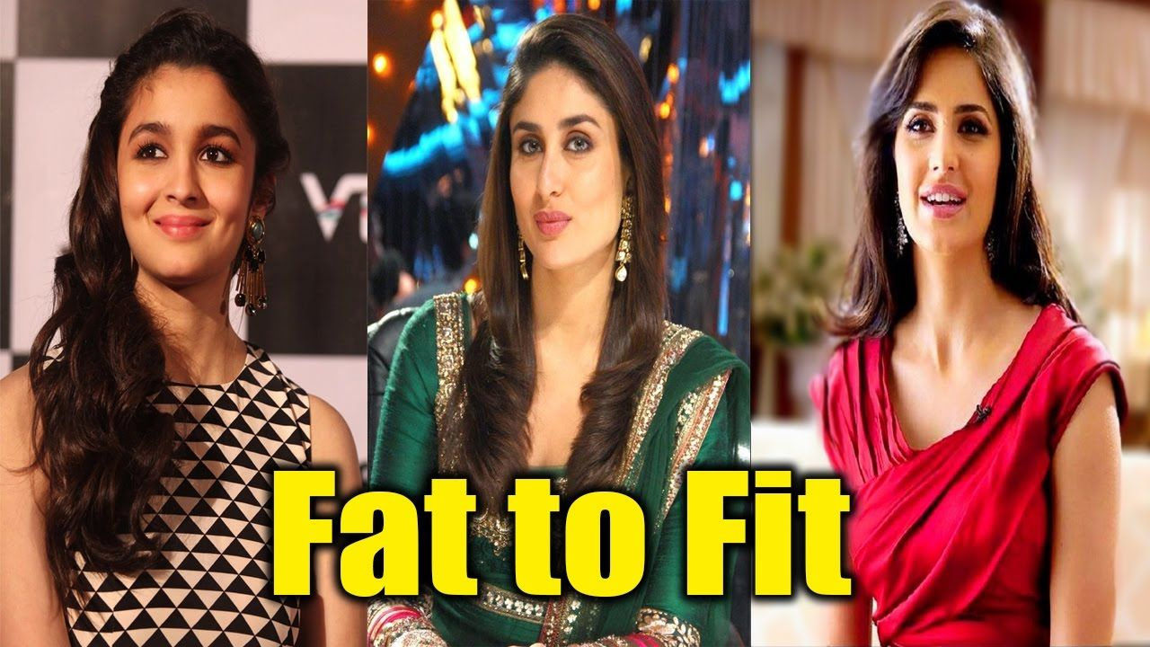 bollywood stars before & after weight loss fat to fit | bollywood