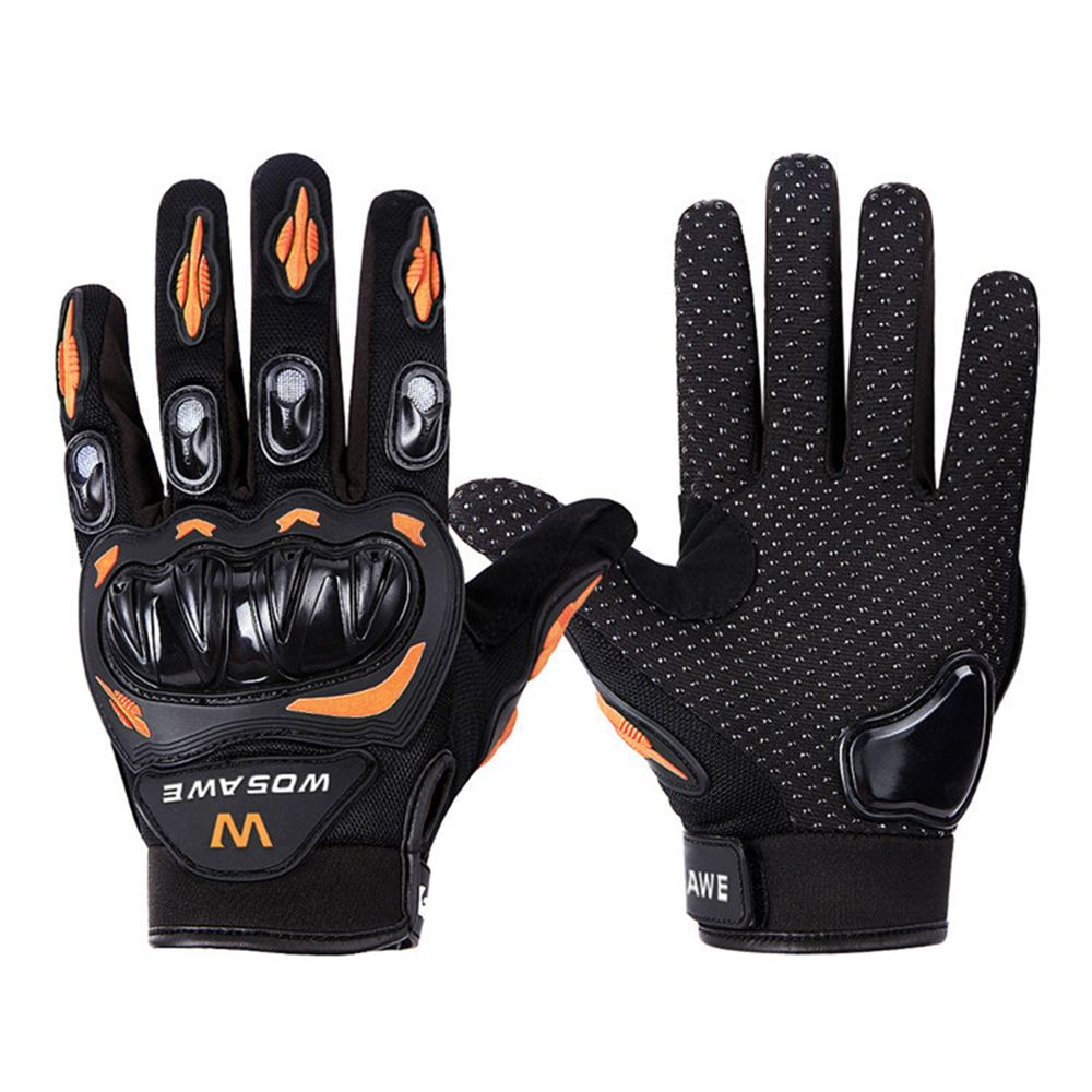 Warm Cycling Bicycle Bike Motorcycle Sports Glove Off-road Full Finger Gloves