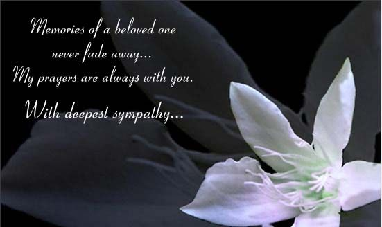 deepest condolences With Deepest Sympathy Free Sympathy - condolence messages