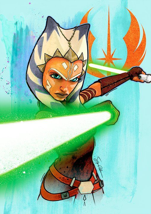 Ahsoka Tano | Star Wars | Pinterest | Galaxias, Guerra de las ...