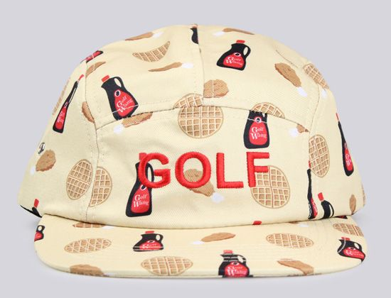 Chicken N Waffles 5-Panel Hat by ODD FUTURE  d14c8f2a027