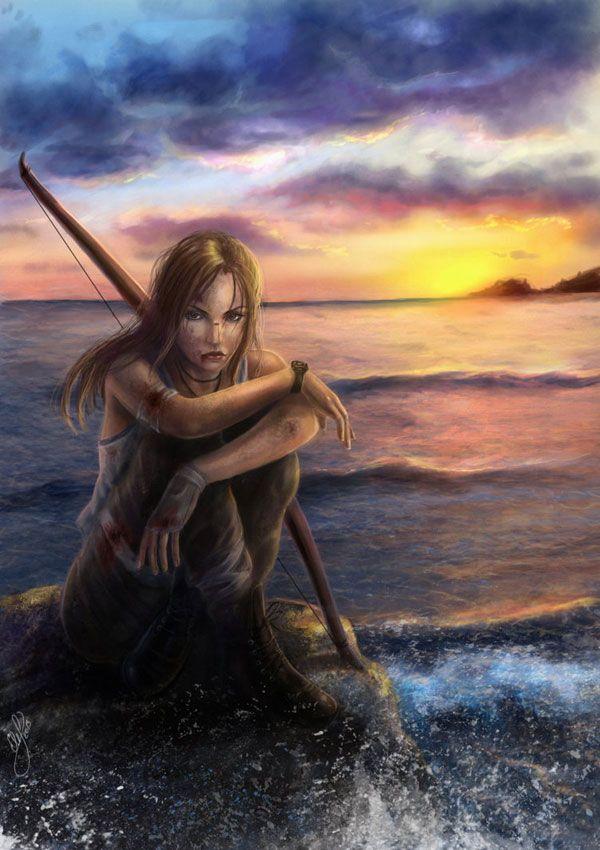 Lara Croft Reborn Contest Illustration by samice on
