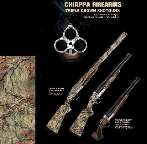 Chiappa three barrel shotgun chiappa shotguns pinterest chiappa three barrel shotgun thecheapjerseys Choice Image