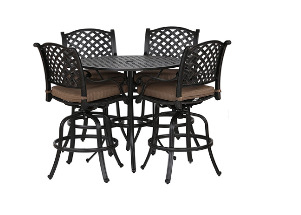 iPatio Sparta Bar Stool with Cushion, All-Weather ... on Sparta Outdoor Living id=12542