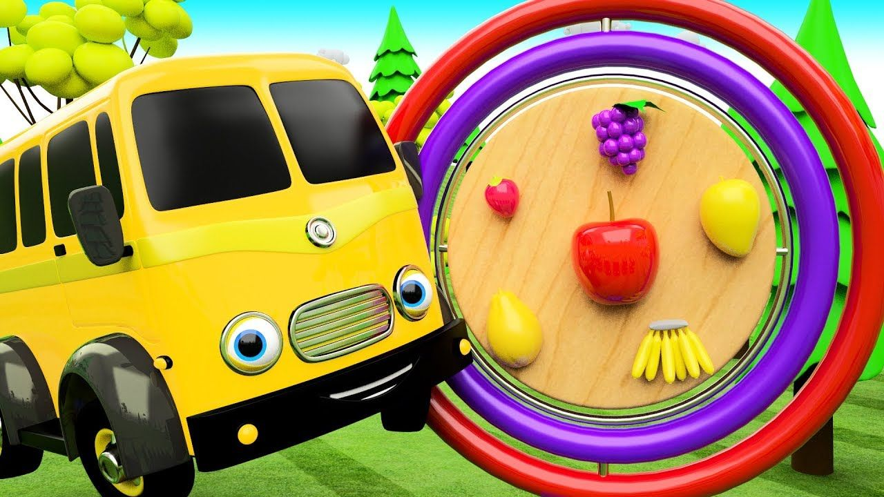 Toys images with names  Colors u Fruits Names for Children with Street Vehicles D Wooden