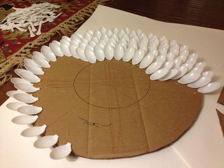 Pinterest Branch Mirror Diy Diy Spoon Mirror Craft Ideas