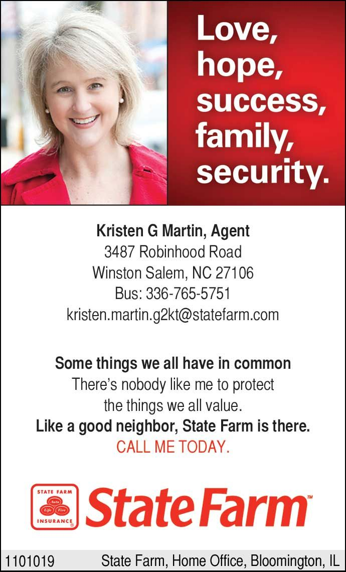Forsyth Woman Engaged Advertising Partner State Farm | January 2012 ...