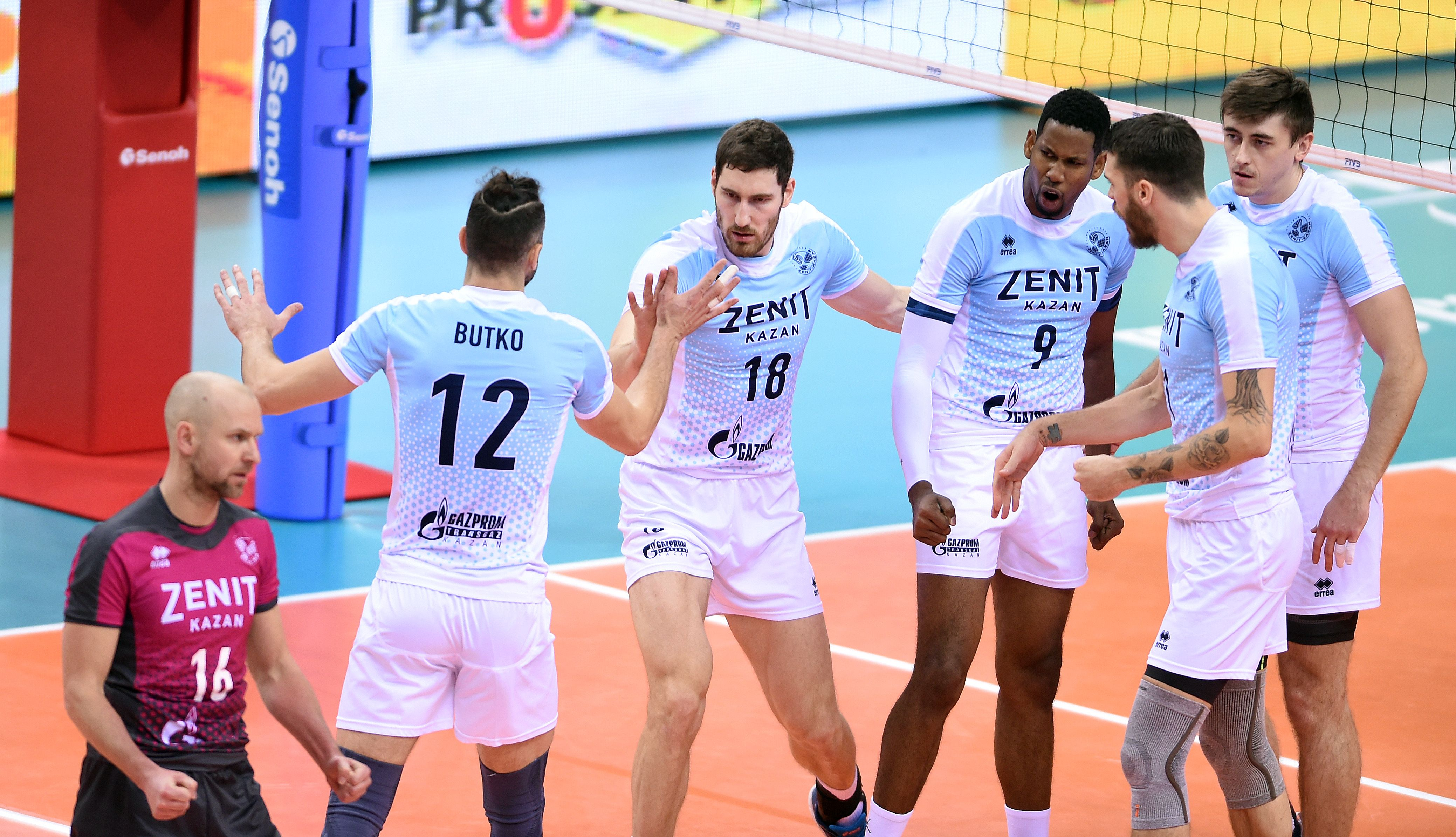 Zenit Kazan And Lube Civitanova To Face Off In Fivb Club Wch Finals Volleyball News Kazan Face Off