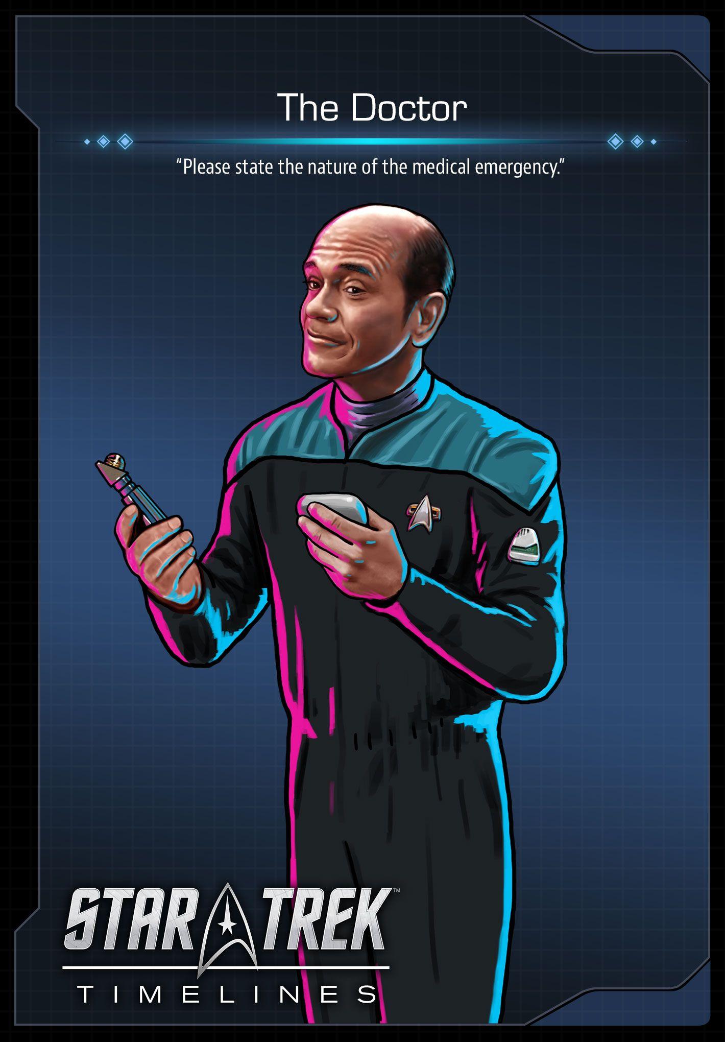 The Doctor (Robert Picardo) from Star Trek Voyager | Star ...