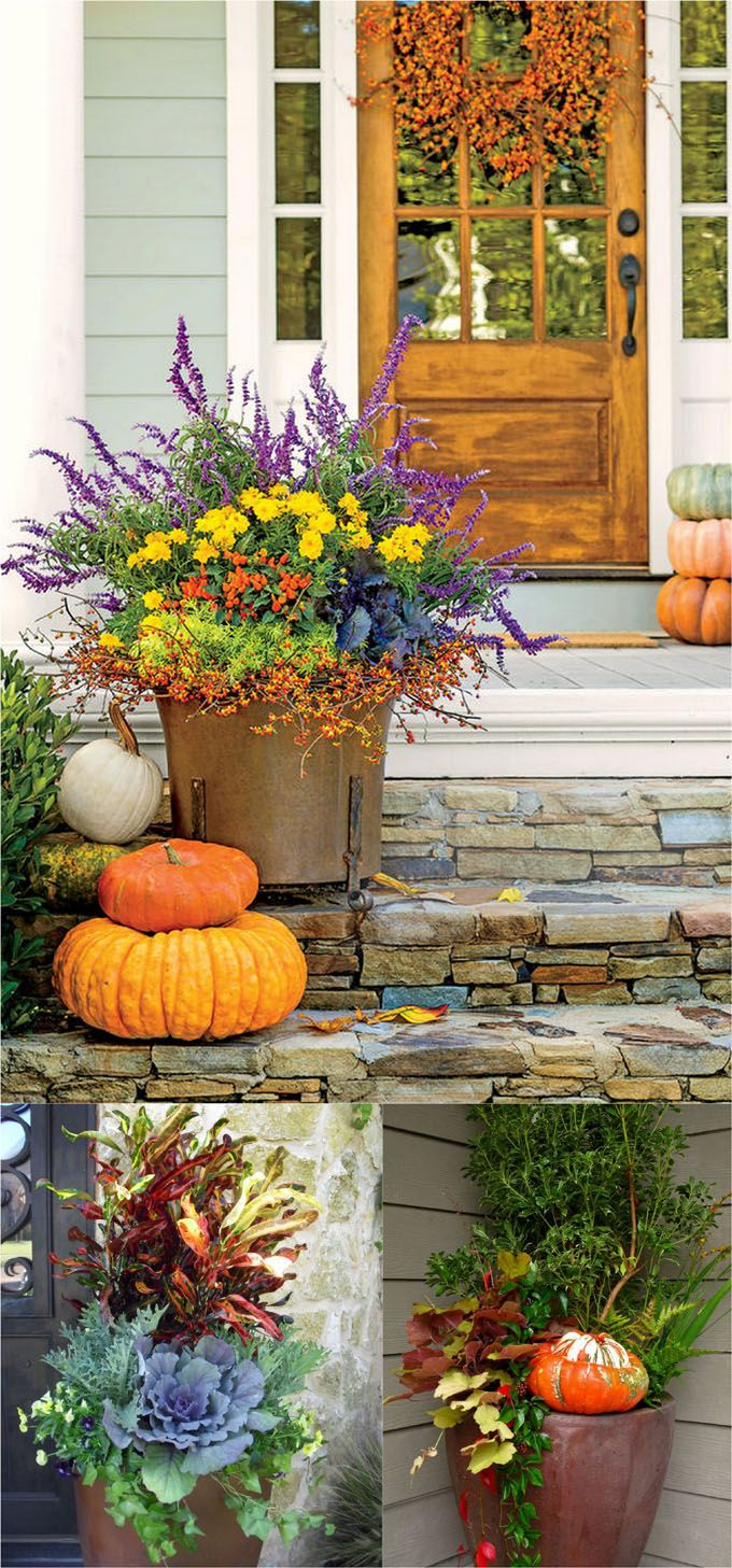 25 Splendid Front Door DIY Fall Decorations - Page 3 of 3 Front - Front Door Halloween Decorations