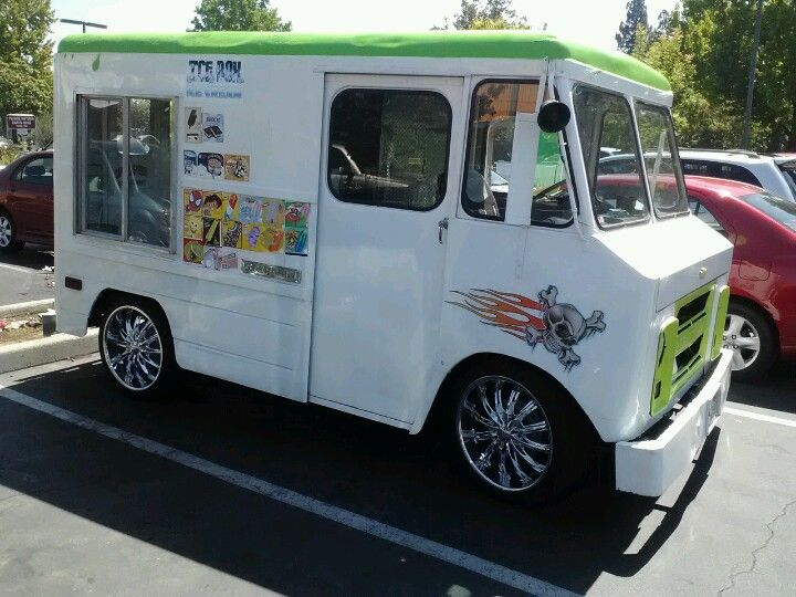 Ice Cream Truck Pimped Out