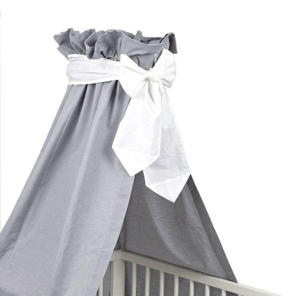 Betthimmel Mit Schleife Farbig Grau Schleife Pinterest Nursery