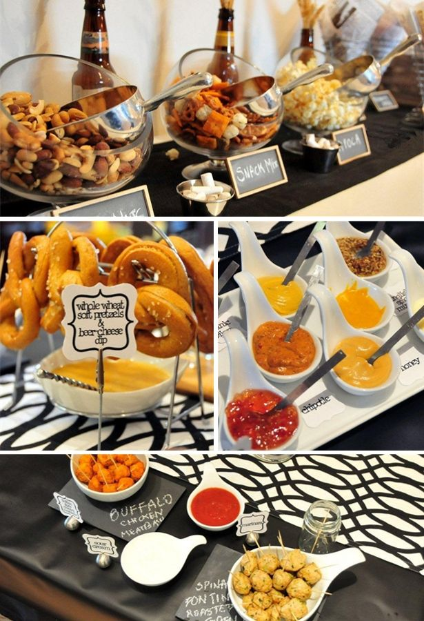 Pretzels And Beer Party Love This Idea For Fall Superbowl Hubbys Birthday Happy Hour You Name It