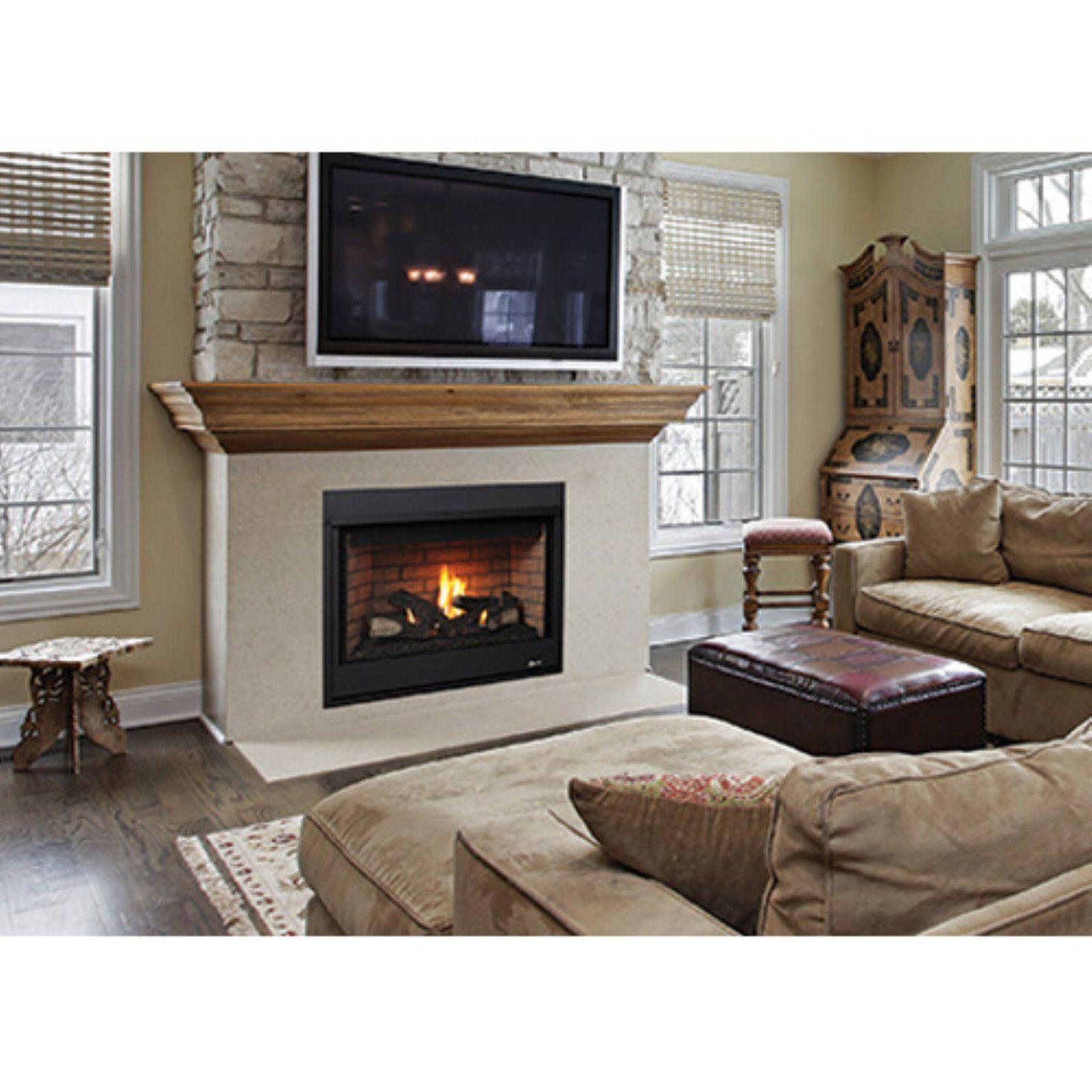 Superior Merit Series Traditional Gas Fireplace Insert | Gas fireplace insert, Vented gas ...