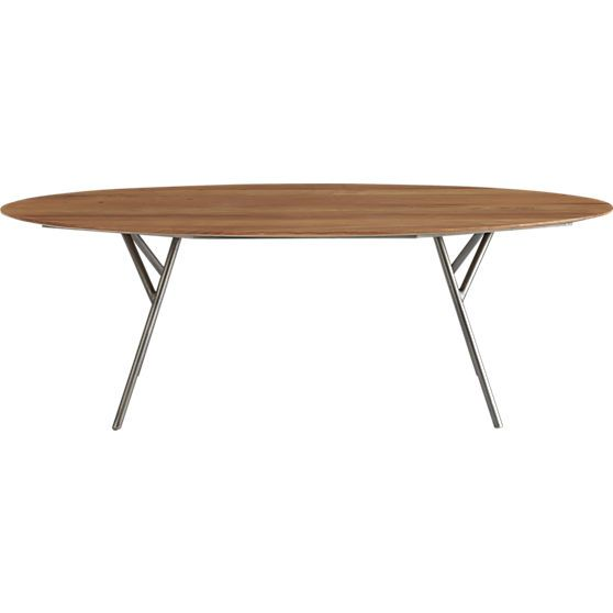 Lineage Dining Table In Dining Furniture Cb2 Unique Dining