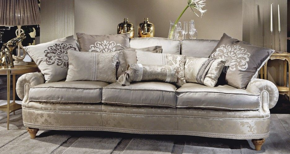 Amazing Classical Luxury Sofas Wooden Style Traditional Pattern With ...