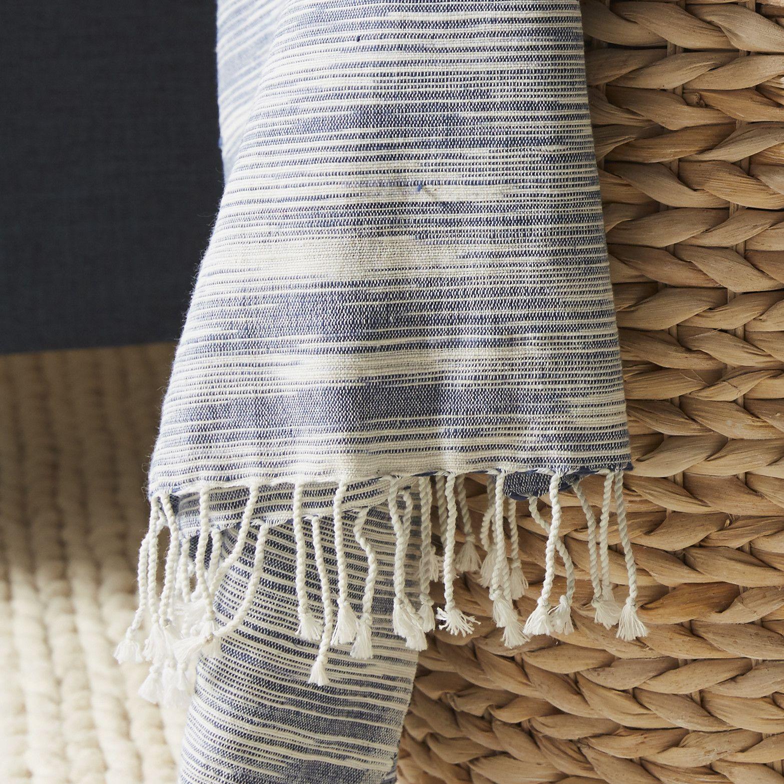 gattilier essential handloom modern throw blanket  throw blankets  - gattilier essential handloom modern throw blanket
