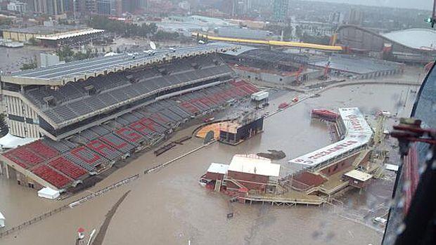 Cbc Sports Story Calgary Stampede Calgary Canada Flood