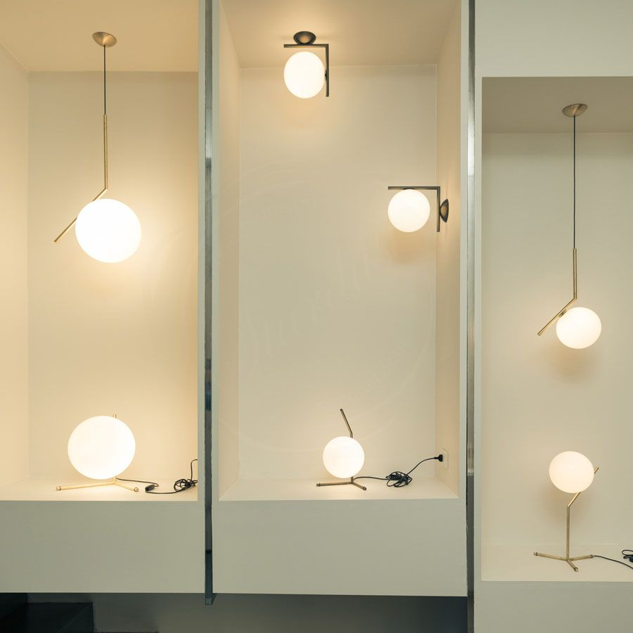 IC Light S Pendant Lamp By Flos Lighting